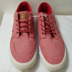 Other - Red Chambray Sneakers